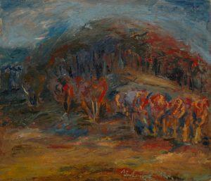 Šibeniční vrch, 2007, olej na plátně, 60x70cm