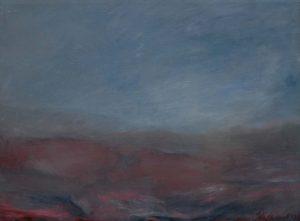 Tušení, 2007, olej na plátně, 53,5x72cm