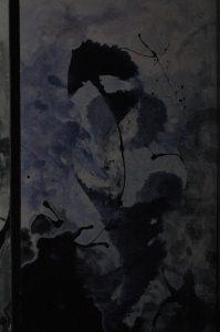 Sen, 2008, syntetická barva na plátně, 196,5x99cm