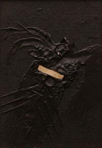 Trnucha obecná, 2008, kombinovaná technika na dřevěné desce, 30x21cm