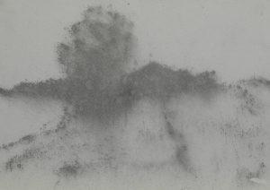 Strom u cesty, 2009, uhel na papíře, 29,7x42cm