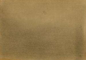Zamlžené, 2009, uhel na papíře, 29,7x42cm