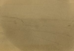 Zamlžené pole, 2009, uhel na papíře, 29,7x42cm