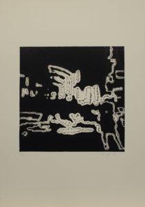 Focení překladiště, 2010, 35x50cm, Linoryt Náklad 6