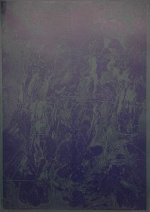 Jízda na kole, 2010, 100x70cm, Tisk z výšky ze suché barvy Náklad 7