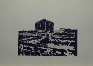 Koksovna II, 2010, 50x70cm, Linoryt Náklad 5