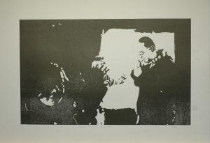 Máša, Tomáš a Kuba, 2010, 61,5x86cm, Linoryt Náklad 3