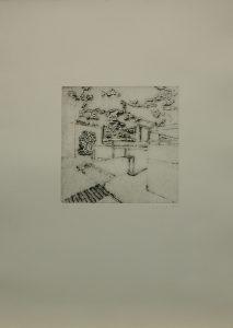 V Hájích, 2010, 64×42,5cm, Linoryt Náklad 5