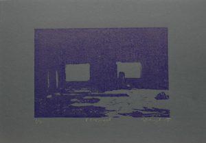 V koksovně, 2010, 50x35cm, Linoryt Náklad 7