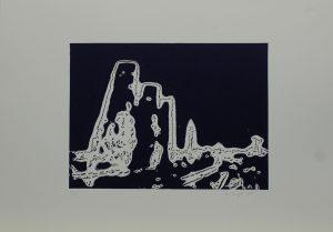 Vápenné pece, 2010, 35x50cm, Linoryt Náklad 5