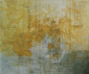 Akademie, 2012, akryl na plátně, 250x300cm