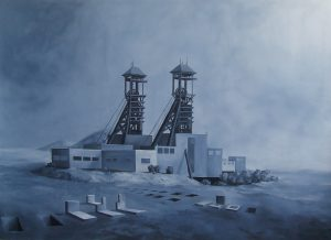 Belgie, 2012, olej na plátně, 200x280cm