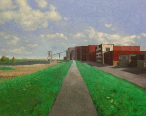Holandsko, 2012, olej na plátně, 170x215cm
