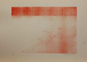 Hrob kříže, 2012, 39×54,5cm, Sítotisk Náklad 6