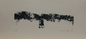 Hrob u lesa, 2012, 18,5×40,5cm, Sítotisk Náklad 9
