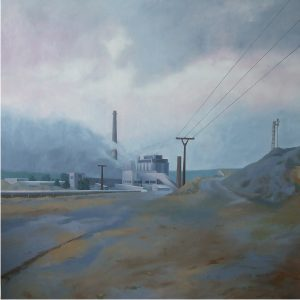 Kaolinka, 2012, olej na plátně, 195x195cm