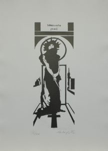 Médea, 2012, 42×29,5cm Sítotisk Náklad 20