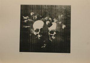 Milenci, 2012, 39×54,5cm, Sítotisk Náklad 8