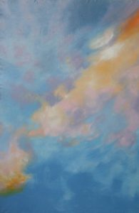 Světlá mlhovina, 2012, olej na plátně, 210x140cm