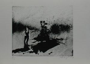 Balanc a risk, 2013, 26×36,5cm, Sítotisk Náklad 6