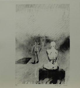 Bez názvu, 2013, 32×29,5cm, Sítotisk Náklad 6