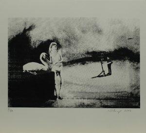 Hitler v plenéru, 2013, 29,5x32cm, Sítotisk Náklad 10