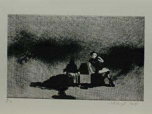 Krajina, žena a hnůj, 2013, 24x32cm, Sítotisk Náklad 7