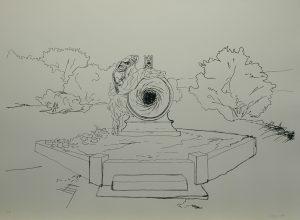 Múza duší, 2013, 70x100cm, Sítotisk Náklad 10