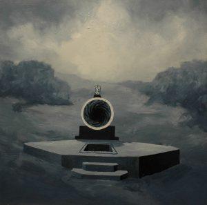 Múza duší, 2013, olej na plátně, 60×60,5 cm