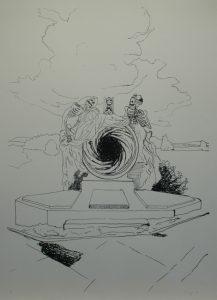 Múza duší II, 2013, 100x70cm, Sítotisk Náklad 9