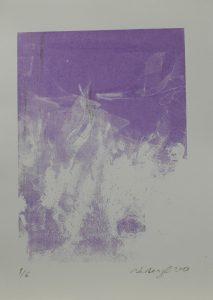 Vdoví mlhovina, 2013, 36×26,5cm, Sítotisk Náklad 6