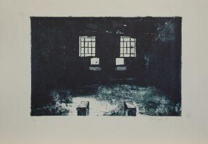 Vězeňská koupelna, 2013, 36×50,5cm, Litografie Náklad 16
