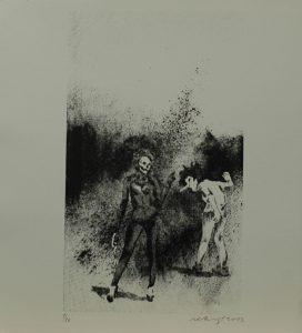 Výprask, 2013, 32×29,5cm, Sítotisk Náklad 10
