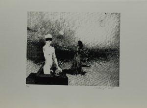 Zmrtvýchvstání II, 2013, 29,5x40cm, Sítotisk Náklad 11