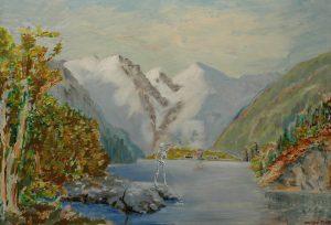 Močící Smrt, 2014, olej na plátně, 50x70cm